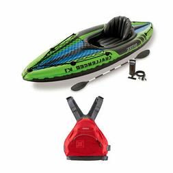Intex 1-Person Inflatable Sporty Kayak & Ninja Adult L/XL Ka