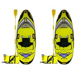 RAVE Sports 1 Person Sea Rebel Lightweight Inflatable Kayak