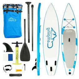 """11FT x 32"""" Inflatable Stand Up Paddle Board SUP 2 in 1 Kayak"""