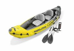 2 person explorer k2 inflatable kayak w