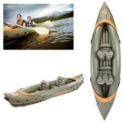 2-Person Inflatable Fishing Kayak Hunting Sport Rafting Boat