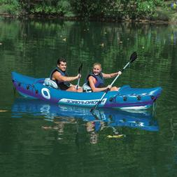 2 Person Kayak For Adults Seat Sea Fishing Lightweight Heavy