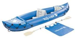 2-Person Kayak w Air Tight System, Outdoor Sports Recreation