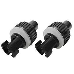 2pcs Nylon Inflatable Boat Kayak Foot Air Pump Hose Valve Ad