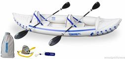 SEA EAGLE 330 PRO PACKAGE INFLATABLE KAYAK CANOE - BRAND NEW