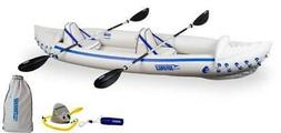 SEA EAGLE 370 Professional 3 Person Inflatable Sport Kayak C