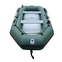 4-Person Inflatable Boat Fishing Raft Tender Dinghy Floating