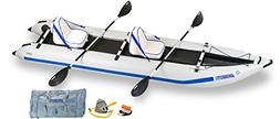 Sea Eagle 435 Paddle Ski Catamaran Inflatable Kayak with Del