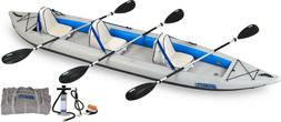 465ft inflatable fast track kayak deluxe package