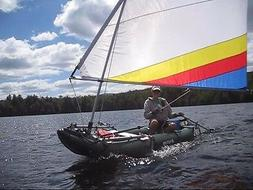 Sail Kit for Your Sea Eagle or Saturn Inflatable Kayak