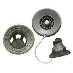 6 Holes Inflatable Boat Air Valve Adapter Cap Cover Raft Kay