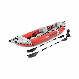 Intex 68309 Excursion Pro Inflatable 2 Person Vinyl Kayak wi