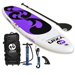 NIXY SUP Beginners and Yoga Inflatable Stand Up Paddle Board
