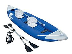 Bestway Bolt X2 Two Person Inflatable Kayak Boat Raft with P