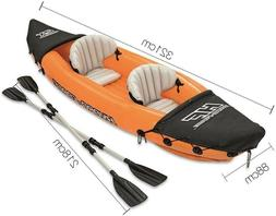 BRAND NEW ~~ Lite-rapid X2 Inflatable Kayak Boat Raft With 2