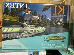 BRAND NEW SEALED Intex Challenger K1 Inflatable Kayak with O