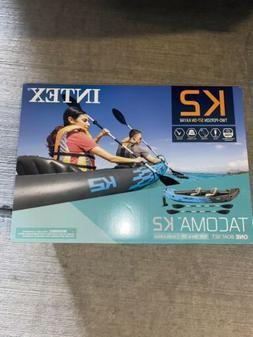 BRAND NEW Intex Tacoma K2 Two-Person Inflatable Kayak  🔥