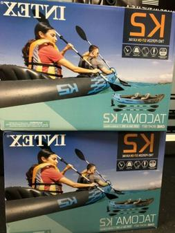 BRAND NEW Intex Tacoma K2 Two-Person Inflatable Kayak