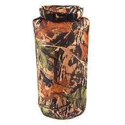 sikiwind 8L Camo Waterproof Dry Sack Bag Travel Outdoor Camp