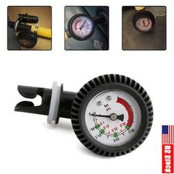 Car Air Pressure Gauge Thermometer Connector for Inflatable