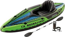 INTEX Challenger K1 9-foot inflatable kayak.