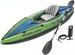 Intex Challenger K1 Inflatable Kayak  w/ Paddle and Pump