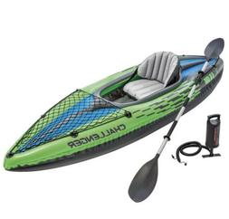 Intex Challenger K1 Inflatable Kayak Set 1-Person BRAND NEW