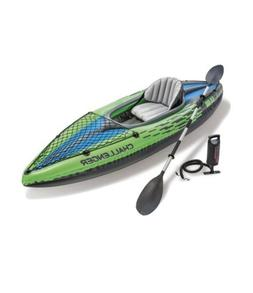 INTEX CHALLENGER K1 INFLATABLE KAYAK WITH OAR & HAND