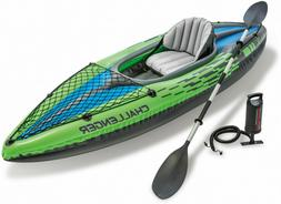 Challenger K1 Inflatable Kayak With Oar And Hand Pump
