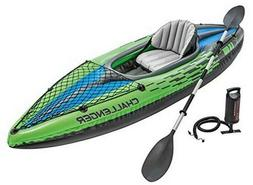 Intex Challenger K1 Kayak, 1-Person, Aluminum Oars, Kayak Se
