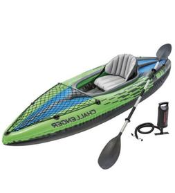 Intex Challenger K1 Kayak 1-Person w/ Oar & Pump - Brand New