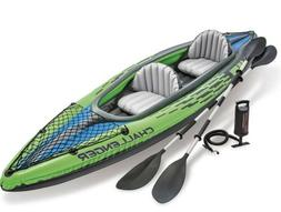 Intex Challenger K2 Inflatable Kayak New Fast Priority Shipp