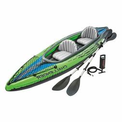 Intex Challenger K2 Kayak, 2-Person Inflatable Kayak Set wit