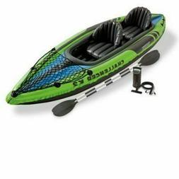 NEW Intex Challenger K1 Inflatable Kayak Set 1-Person w/ Air
