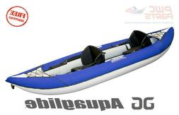"""AQUAGLIDE Chinook XP Two 100 10'6"""" 2 Person Inflatable Kayak"""