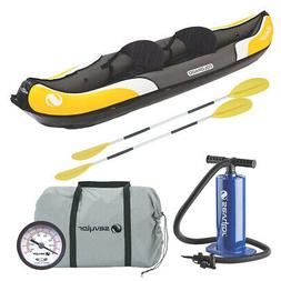 SEVYLOR 2000014329 COLORADO 2 PERSON INFLATABLE KAYAK COMBO