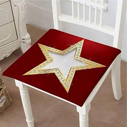 Mikihome Premium Comfort Seat Cushion Polished Blowing Star