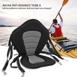 Comfortable Kayak Canoe Seat Drifting Back Rest Pad with Bac