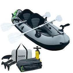 Elkton Outdoors Comorant 2 Person Tandem Inflatable Fishing
