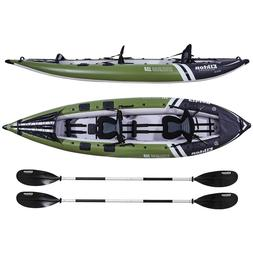 Elkton Outdoors Steelhead Fishing Kayak, Inflatable Touring