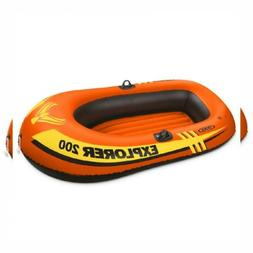 "Intex Explorer 200, 2-Person Inflatable Boat 73""x37""x16"""