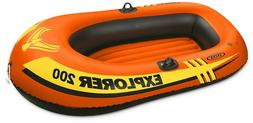 Intex Explorer 200 Inflatable Boat Raft/Kayak/Pool/Summer/Ki