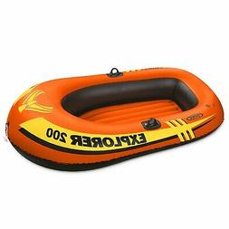 Intex Explorer Pro 200 Two Person Boat Inflatable Raft with