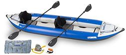 Sea Eagle Explorer Inflatable Kayak with Pro Accessory Packa