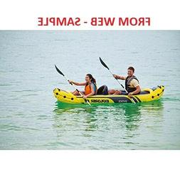 Intex Explorer K2  Inflatable Kayak,LOCAL PICKUP ONLY,with e