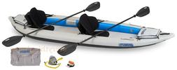 Sea Eagle Fast Track Inflatable 2 Person Kayak Pro Package