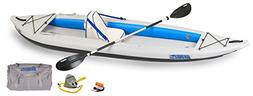 """Sea Eagle 385FT FastTrack Deluxe Solo Inflatable Kayak 12'6"""""""