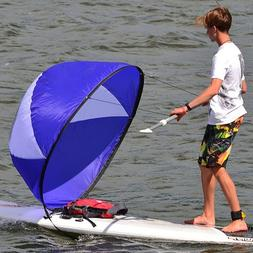 Foldable Kayak Canoes Inflatable Wind Sail Sup Control Speed