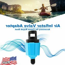 Hot Blue Valve Adapter Air Pump Hose for Inflatable Boat Kay