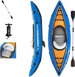 Bestway Hydro-Force Cove Champion Inflatable Kayak Set W/ Pa